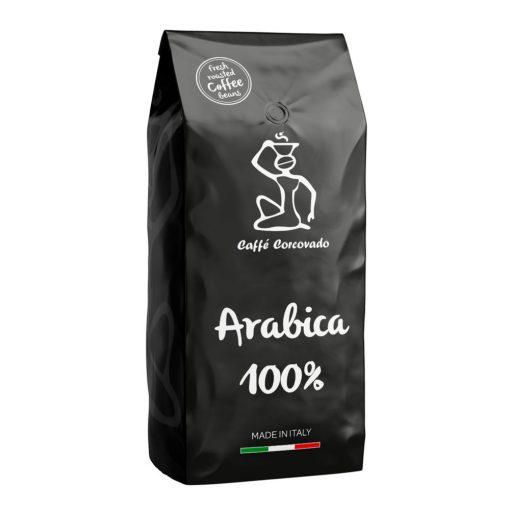 Caffé Corcovado Arabica 100% szemes pörkölt kávé 1kg
