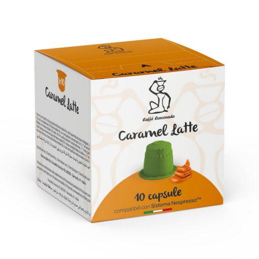 Caramel Latte Nespresso kompatibilis kávékapszula 10db