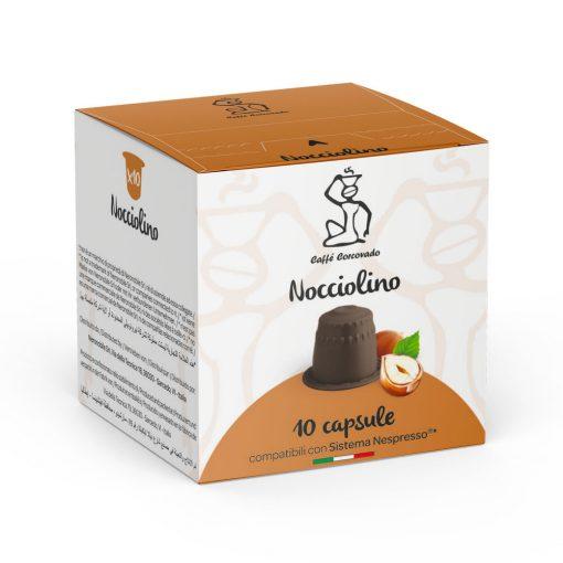 Nocciolino Nespresso kompatibilis mogyorókrém kávékapszula 10db