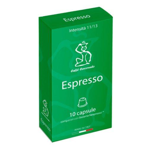 Espresso kávé Nespresso kompatibilis kapszulában 10 db