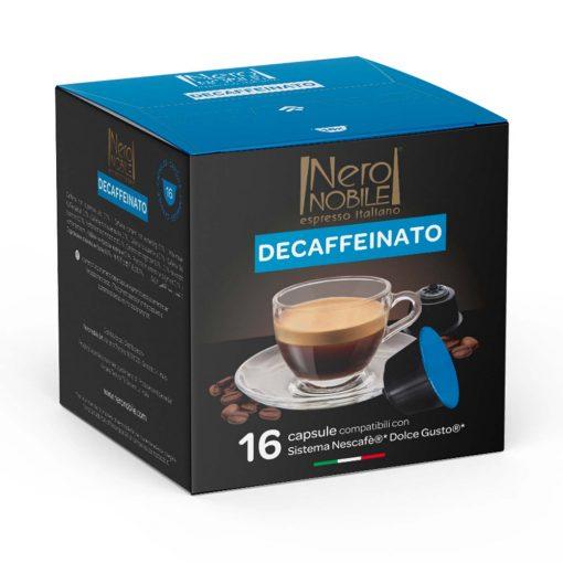 Koffeinmentes Dolce Gusto kompatibilis kávékapszula 16 db