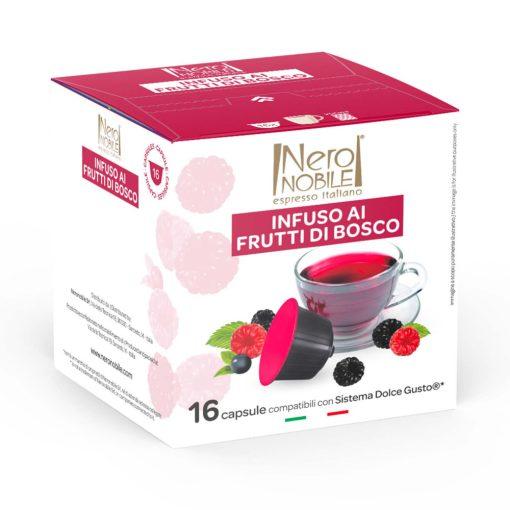Erdei Gyümölcs tea Dolce Gusto kompatibilis kapszula 16db
