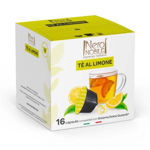 Zöld tea citrommal Dolce Gusto kompatibilis kapszulában 16db