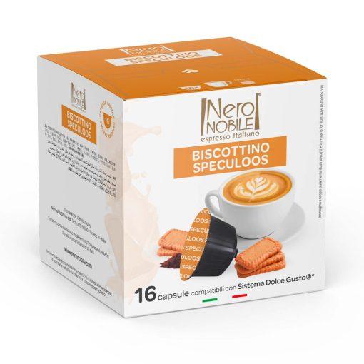 Fahéjas kekszes kávé Dolce Gusto kompatibilis kapszulában 16db