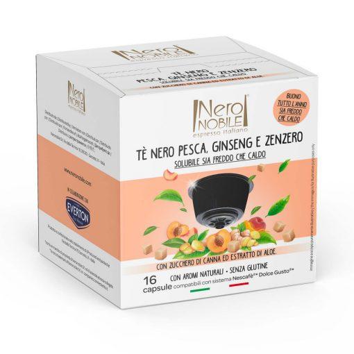 Őszibarackos tea Dolce Gusto kompatibilis kapszulában 16db