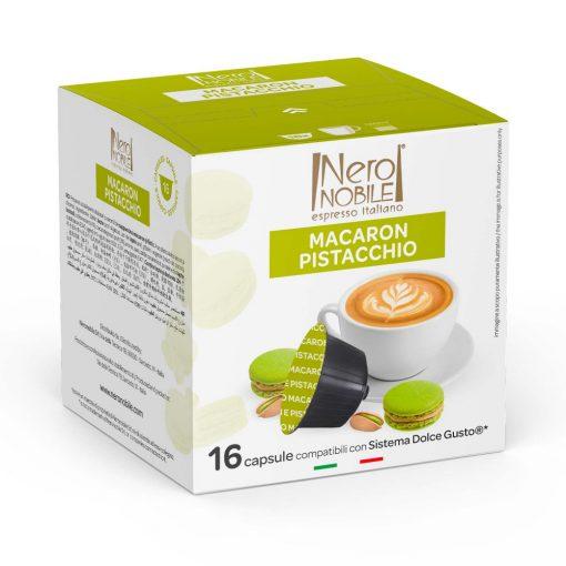 Pisztáciás Macaron Cappuccino Dolce Gusto kompatibilis kapszula 16db