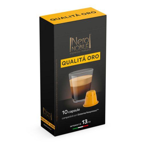 Qualita Oro Nespresso kompatibilis kávékapszula 10 db