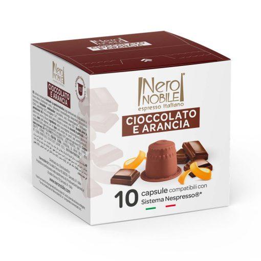 Narancsos csokoládé Nespresso kompatibilis forró csokoládé kapszula 10db