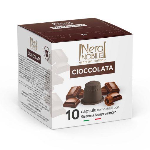 Cioccolata Nespresso kompatibilis forró csoki kapszula 10 db
