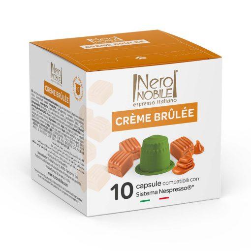 Creme brulee Nespresso kompatibilis kapszula 10 db