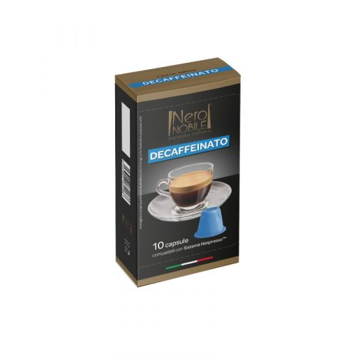 Nespresso kompatibilis koffeinmentes kávékapszula 10 db