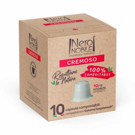 Cremoso Nespresso kompatibilis komposztálható kávékapszula 10 db