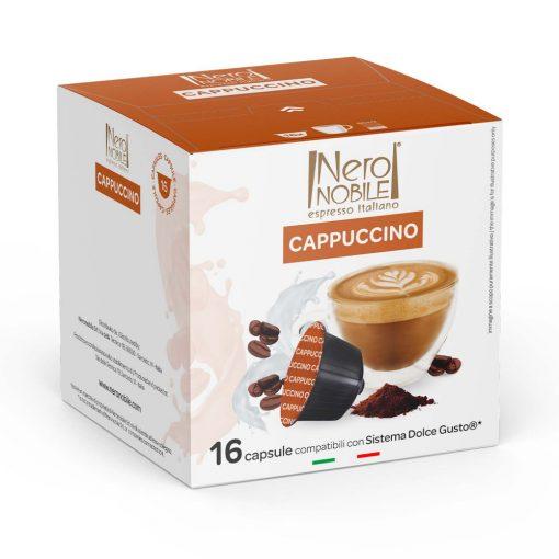 Cappuccino Dolce Gusto kompatibilis kávékapszula 16db