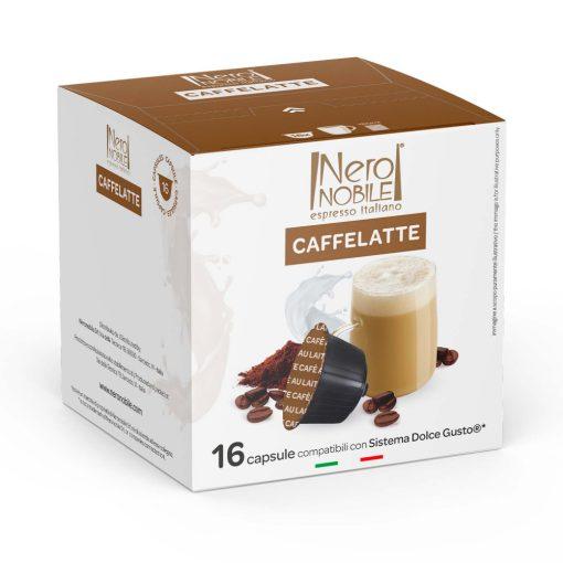 Caffe Latte Dolce Gusto kompatibilis kávékapszula 16db