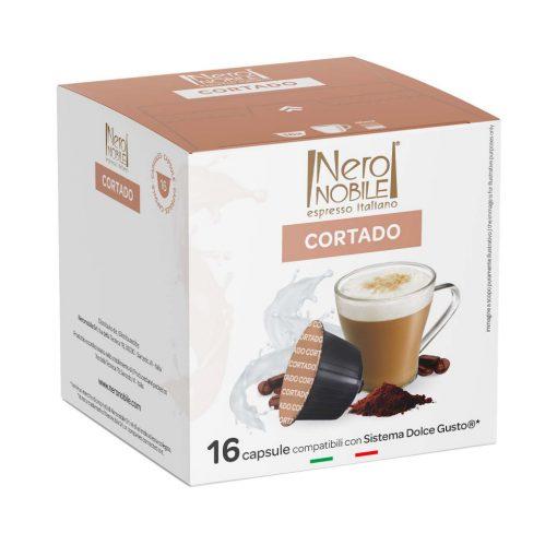 Cortado Dolce Gusto kompatibilis kávékapszula 16db