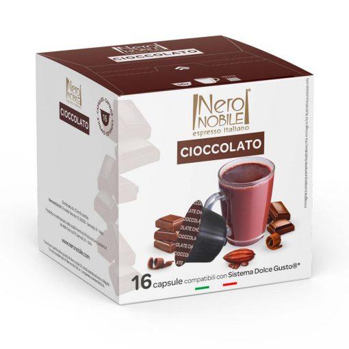 Cioccolato Dolce Gusto kompatibilis forró csoki kapszula 16 db