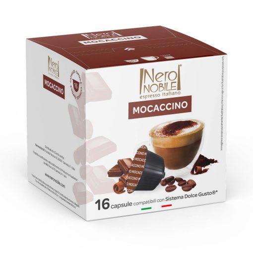 Mocaccino Dolce Gusto kompatibilis kávékapszula 16 db