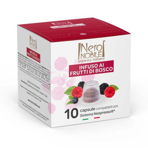 Erdei gyümölcs tea Nespresso kompatibilis kapszula 10 db